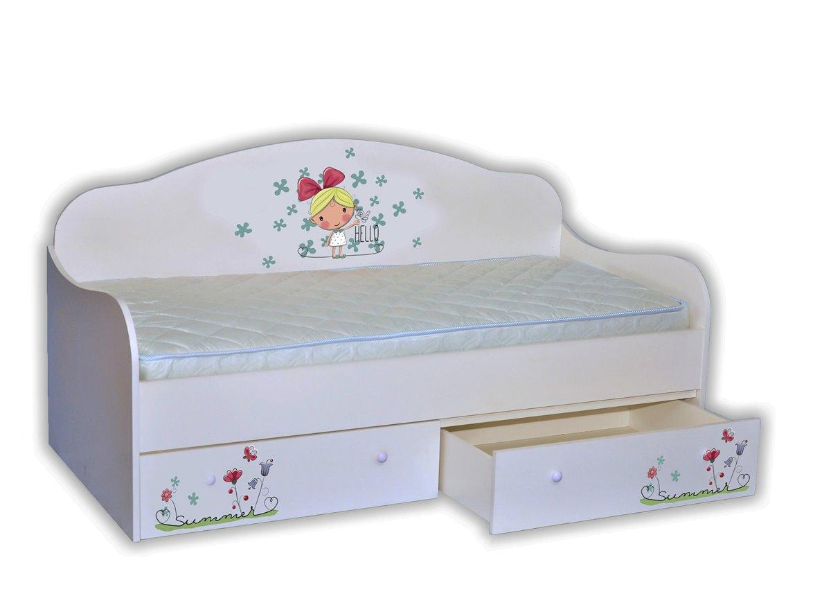 "Кровать-диванчик ""Лето"" 90х190 MebelKon"