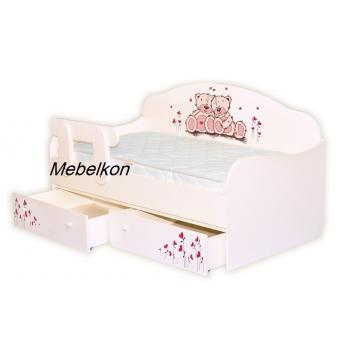 """Кровать-диванчик """"Мишки"""" 90х190 MebelKon"""