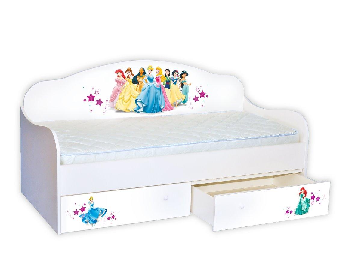 """Кровать-диванчик """"Принцессы"""" 90х190 MebelKon"""