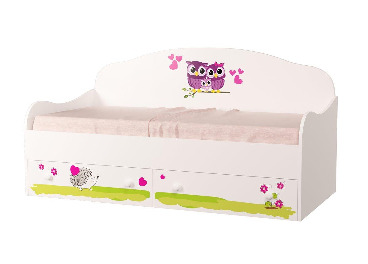 "Кровать-диванчик ""Совушки"" 90х190 MebelKon"