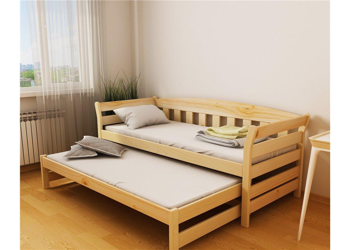 Кровать-диванчик Тедди Дуо с доп. спальным местом (масcив) Луна 90x190