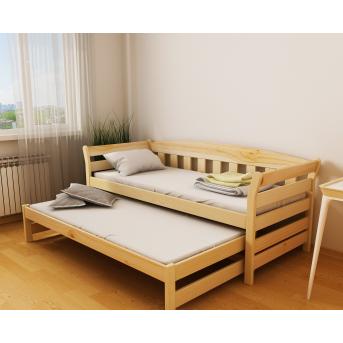 Кровать-диванчик Тедди Дуо с доп. спальным местом (масcив) Луна 80x160