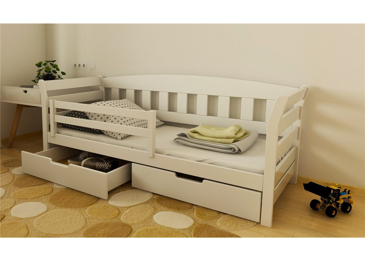 Кровать-диванчик Тедди 1-спальная (масcив) Луна 80x200