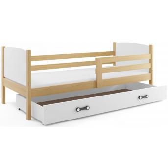 Кровать + 1 матрас + 1 ящик + бортик TAMISingle BMS Group 90x200