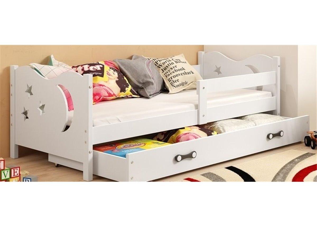 Кровать + 1 матрас + 1 ящик + бортик MIKOSingle BMS Group 80x190