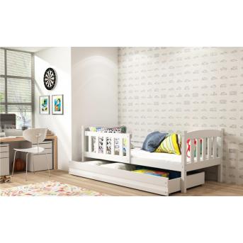 Кровать + 1 матрас + 1 ящик + бортик KUBUSSingle BMS Group 90x200
