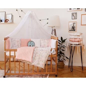 Спальный набор в детскую кровать Верона персиковый Добрый сон 60х120