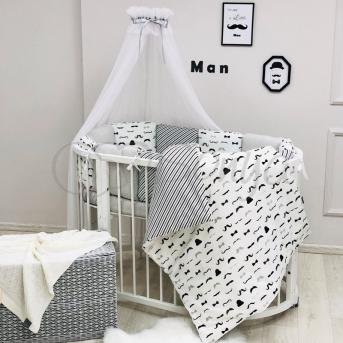 Комплект Baby Design Усы (6 предметов) Маленькая Соня