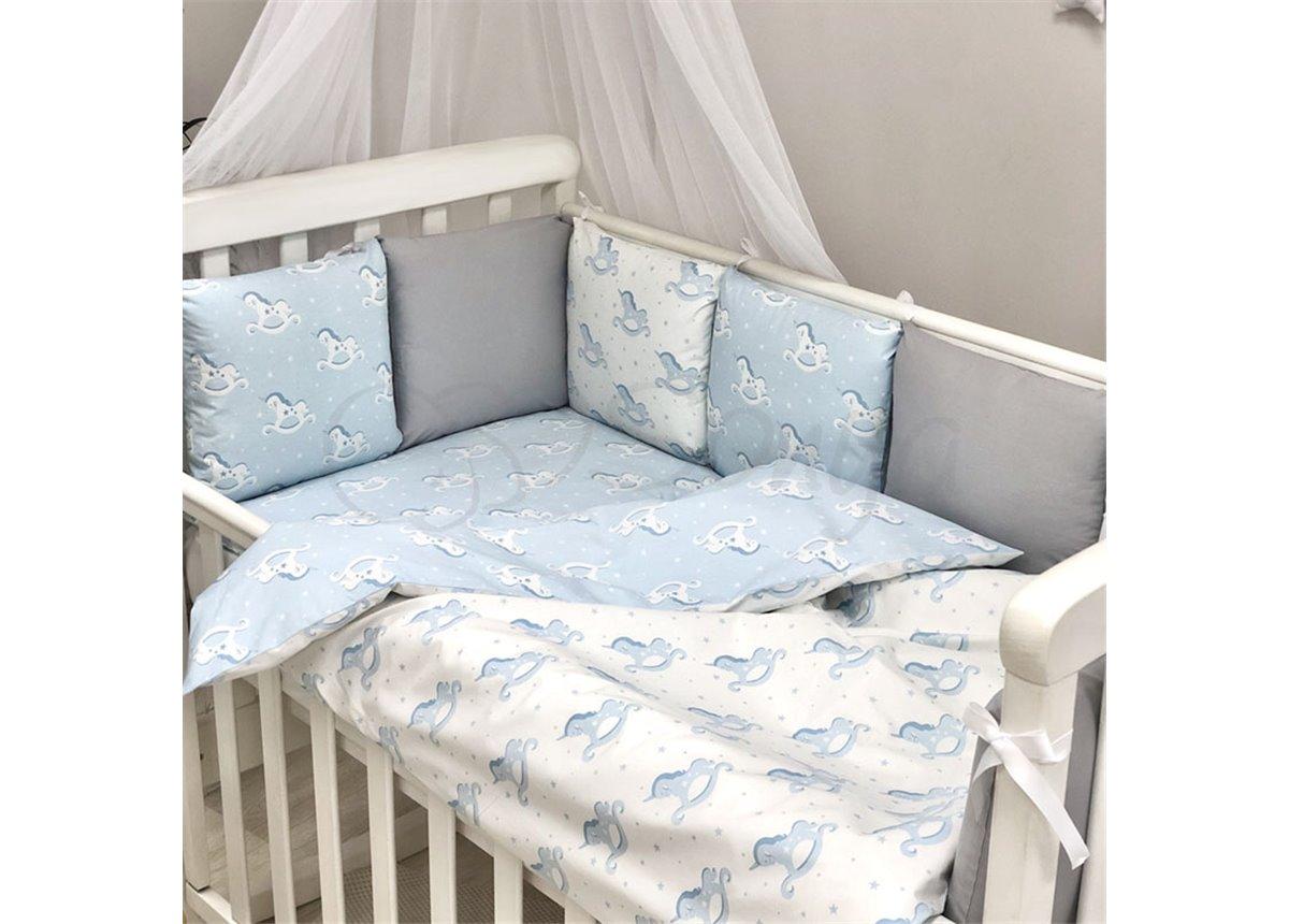 Бортики Baby Design Лошадки Маленькая Соня