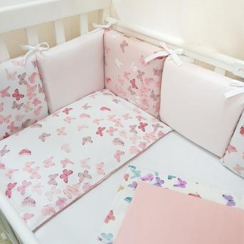 Бортики Baby Design Бабочки Маленькая Соня