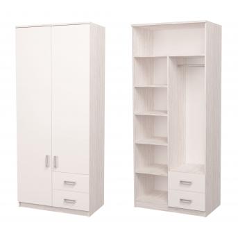 Шкаф Junior Аляска/Белый 211x90x50 MebelKon
