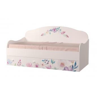 Кровать-диванчик Цветы MebelKon 90x190