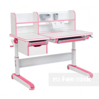 Стол-трансформер FunDesk Libro Pink