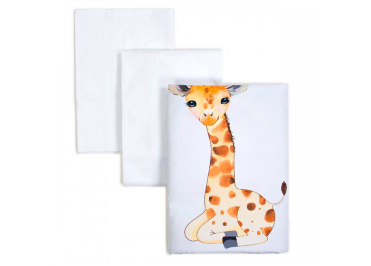 Сменный постельный комплект Veres Giraffe (3 предмета)