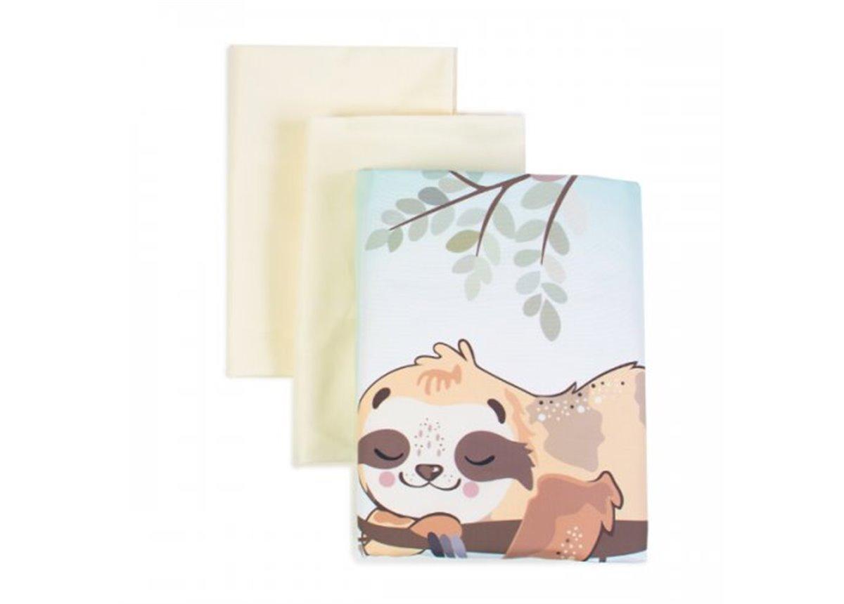Сменный постельный комплект Veres Lazy sloth (3 предмета)