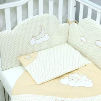Сменный постельный комплект Veres Sleepyhead Бежевый (3 предмета)