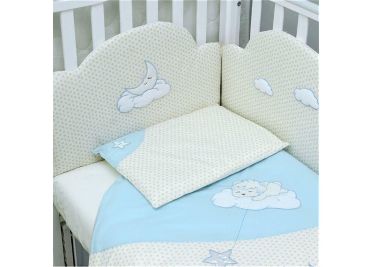 Сменный постельный комплект Veres Sleepyhead Голубой (3 предмета)