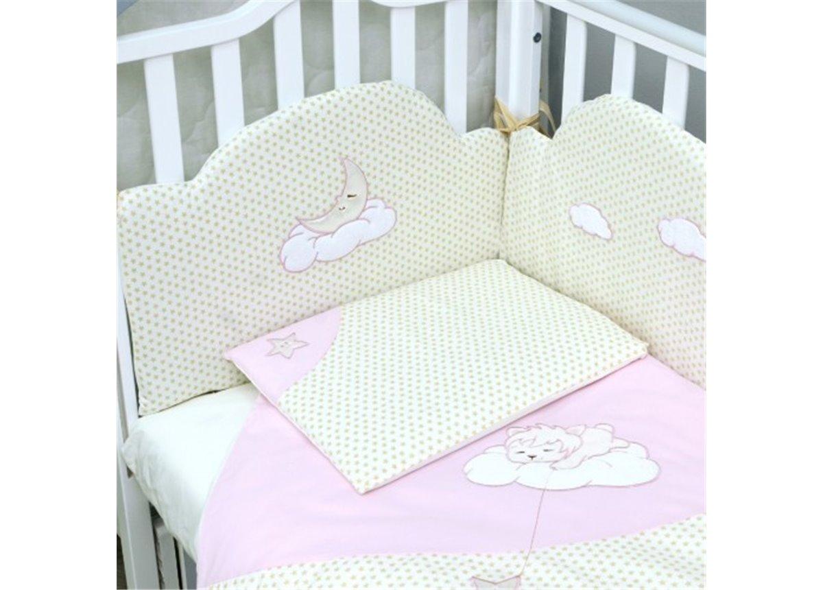 Сменный постельный комплект Veres Sleepyhead Розовый (3 предмета)