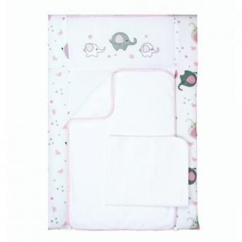 Пеленальный матрас Elephant Розовый 50x70 Veres