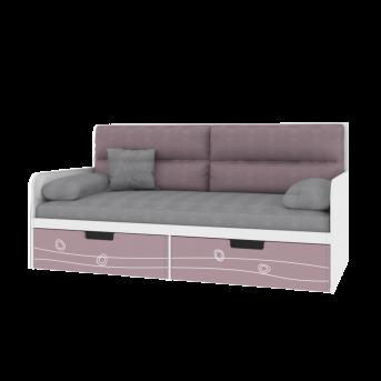 Кровать-диванчик с мягкой частью TR-L-010 Rose Эдисан