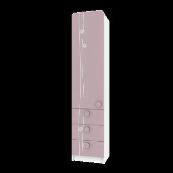 Пенал TR-P-004/4 Rose Эдисан