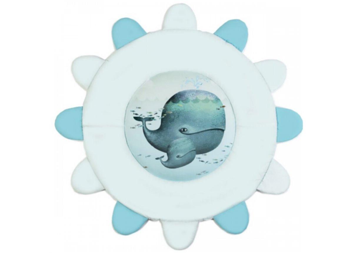 Коврик игровой Menthol whale 92х92 Veres