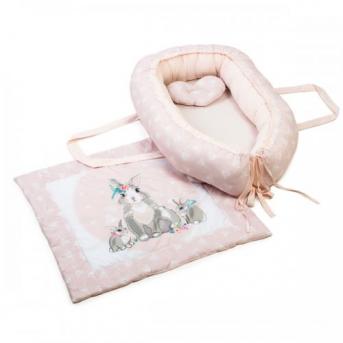 Кокон (позиционер) Summer Bunny розовый Veres