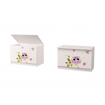 Ящик для игрушек Совушки 50*65*47 MebelKon