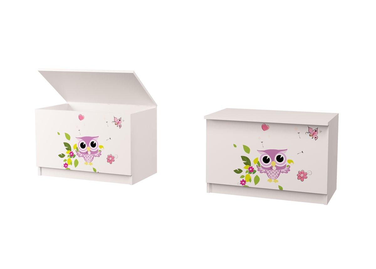 Ящик для игрушек Совушки 50*75*47 MebelKon