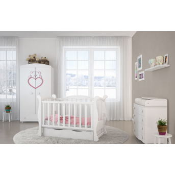 Кроватка детская LUX6 диванчик Angelo 60x120