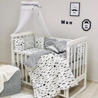 Комплект Baby Design Усы (7 предметов) Маленькая Соня