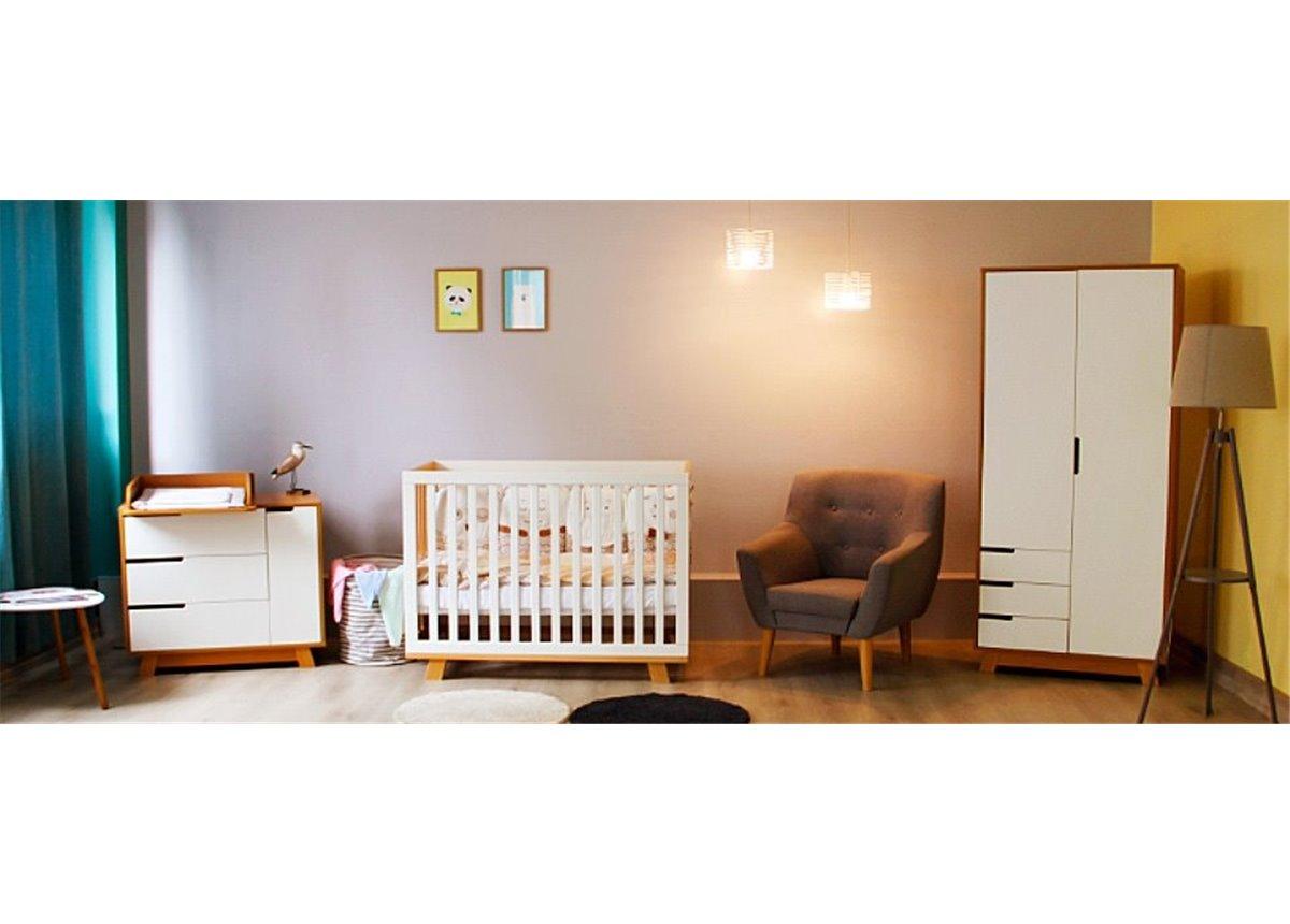 Комната Верес коллекция Манхэттен для новорожденных бело-буковый