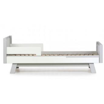 Кровать подростковая Manhattan Верес 80х160 бело-серая