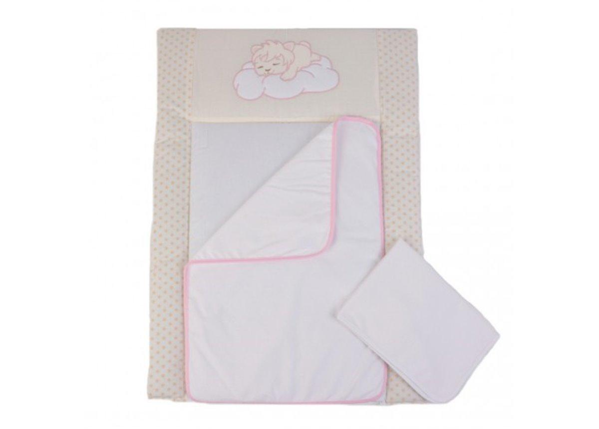 Пеленальный матрас Sleepyhead Розовый 50x70 Veres