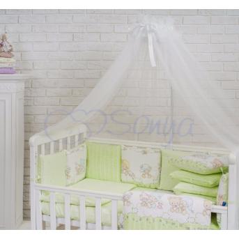 Балдахин Baby Design белый Маленькая Соня