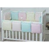 Сменный комплект постельного белья Зайчики розовый Маленькая Соня