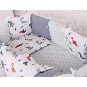 Сменный комплект постельного белья Baby Design  синий Маленькая Соня