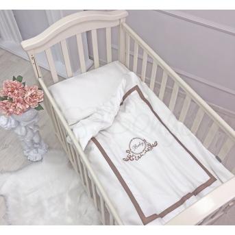 Сменный комплект постельного белья Belissimo шоколад Маленькая Соня