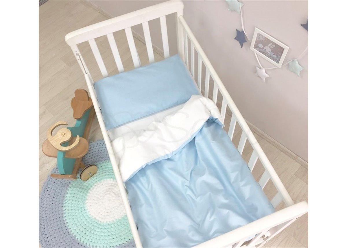 Сменный комплект постельного белья Универсальный Маленькая Соня голубой