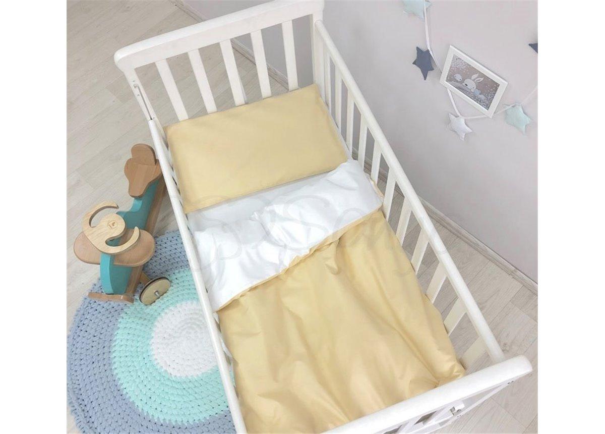 Сменный комплект постельного белья Универсальный Маленькая Соня горчичный