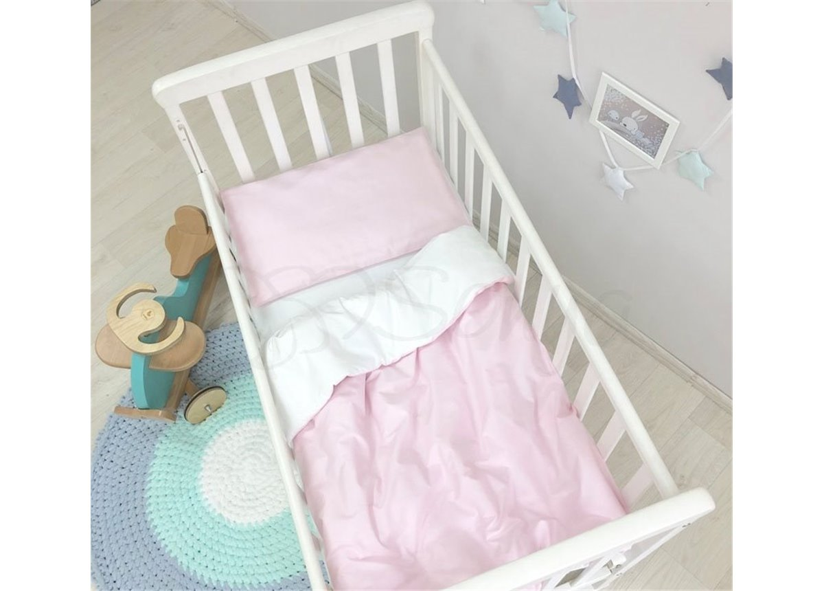 Сменный комплект постельного белья Универсальный Маленькая Соня розовый