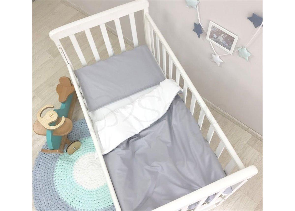 Сменный комплект постельного белья Универсальный Маленькая Соня серый