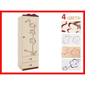 Распродажа 94_шкаф 60 Серия орхидея розовая Meblik1