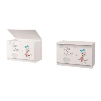 Ящик для игрушек Гламур MebelKon 50х65х47