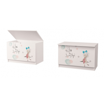 Ящик для игрушек Гламур MebelKon 50х75х47