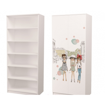 Шкаф для Белья Гламур 211x100x50