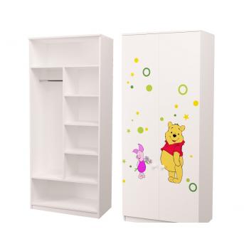 Шкаф Винни 2 Комбинированный 211x90x50