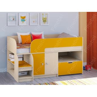 Кровать-чердак Астра-9 Fmebel 80х160