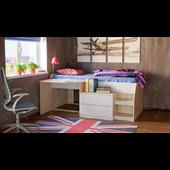 Кровать-чердак комбинированная Тони-12 Fmebel 80х190