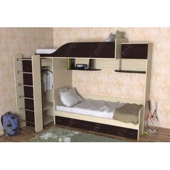 Двухъярусная кровать КЧД 109 Fmebel